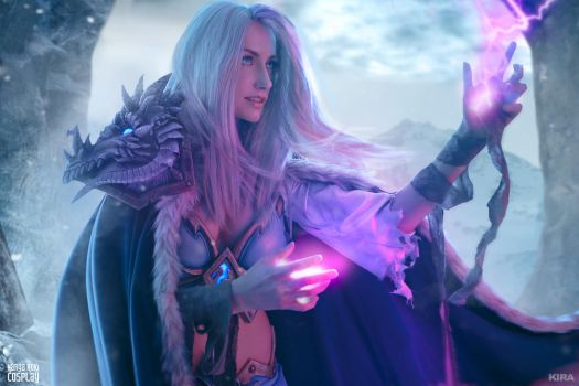 Frost Lich Jaina IV by Narga-Lifestream