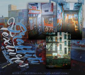 Graffiti Textures Pack by VicStephan16