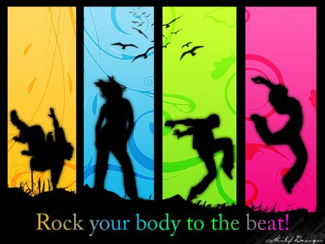 Sillhoutte - Rock your Body by GraTion-B