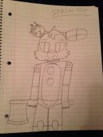 Springtrap (The Prequel Fanart)  by ShadAmyfangirl129