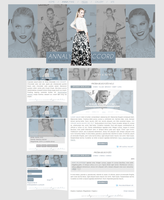 Ordered AnnaLynne McCord Layout by Efruse