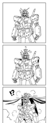 That Bowsette meme but it's a Gundam by GundamMeister