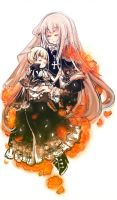 Nyotalia Prussia and Holy Roma by inpninqni