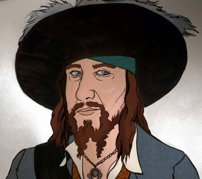Hector Barbossa (colours) by Countess-Nynke