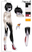 Spirit the Lost Ghost {CREEPYPASTA OC REFERENCE} by vintricktive