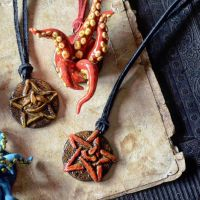 Horror pendants by falauke