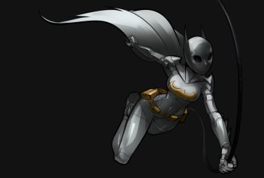 Cassandra Cain Silver by Psuede