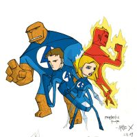 fantastic four by the-slift