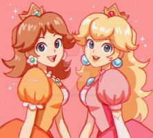 Princess Peach and Daisy