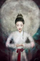 The Goddess Project: Cheng-E by AydenGracePhoto