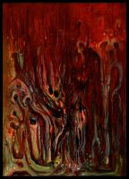 Caustic Spells of Hell by offermoord