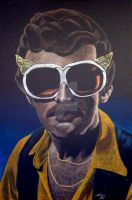 Fritz the Nite Owl by monsterartist