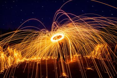 Steel Wool Lasso by samuelelliswilson