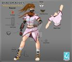 Dead or Alive 5 - My Contest Design Submission