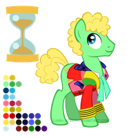 Reference Sheet: Sixth Doctor by LissyStrata