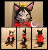 Cait Sith Plush by NsomniacArtist