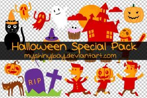 Halloween Special Pack by MyShinyBoy