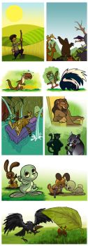 EGLENCELI KITAP's pages p2 by Seeso2D