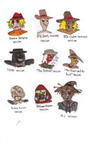 Different Styles of Scarecrow by KessieLou
