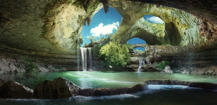 Sanctuary Grotto by batkya