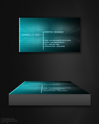 Holo Screen Business Card by specialized666