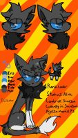 Duskstar |Reference sheet| by Fennevee