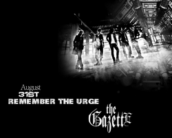 the GazettE Remember The Urge by Crimson-Truth