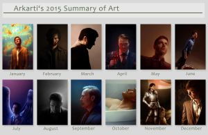 Summary of art 2015 by Arkarti