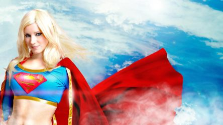 Supergirl wallpaper by EnjiNight