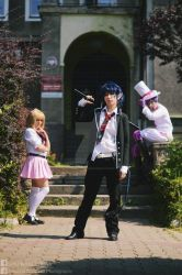 Ao no Exorcist: Entrance
