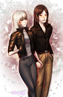 Alona and Tristan by ObscurumOpus