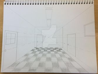Perspective Practice: One Point by greenstar2001