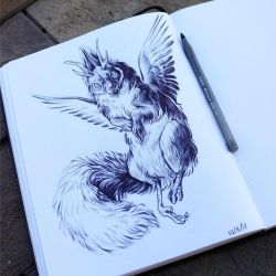 Wolpertinger by AnyaBoz