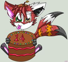 Another BDay Pic. by LoneWolf-FarAway