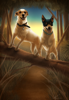 Bindii and Roxy by Serphire