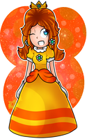 .:Princess Daisy:. by Cookie-Luiginoid