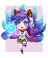 Arcade  Ahri Fanart by Rocomi-Drawings