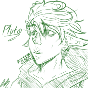 Pluto (for Sina) by RussianRider512