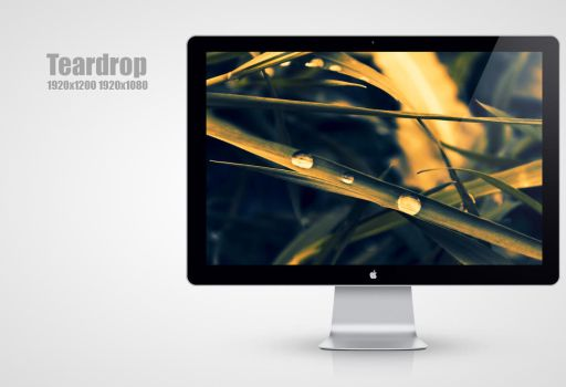 Teardrop Wallpaper by MadMilov2