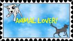 Animal Lover Stamp by MysteryKittyMeowMeow