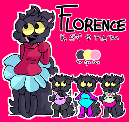 Florence Ref Sheet Time by ThePirhana16