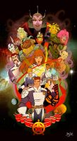 Galaxy Rangers Collab by Themrock