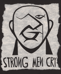 Strong Men Cry by Leonca