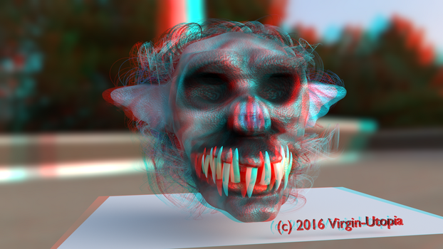 Masque WIP-6 Anaglyph by Virgin-Utopia