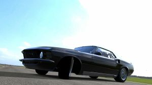 Gran Turismo 5 - Ford Mustang by Plageman18