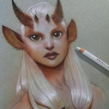 Airbrush Sketch by SulaMoon