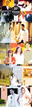 20 Free Wedding Photoshop Actions Ver 2 by Ahsaninspire