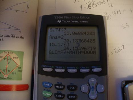 Glompy trying to do math by iGlompy