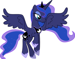 Princess Luna Vector by ASKometa