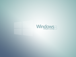 Windows 8 Concept New Logo Wallpaper #3 by danielskrzypon